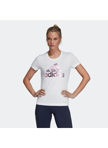 adidas Bos Foil Kadın T-Shirt Renkli